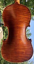 Wilhelm Duerer Stradivarius Artist Violin Flamed Back