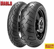 Gomme pneumatici Pirelli Diablo 120/70 17 160/60 17 Yamaha XT 660 X Supermotard