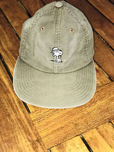 Huf Peanuts Snoopy Strapback Hat Denim Blue Adjustable