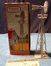 Plasticville O Scale 1408 79 Windmill Complete In OB.