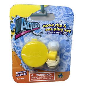 AQUA SPORT NOSE CLIP & EAR PLUGS SET Yellow