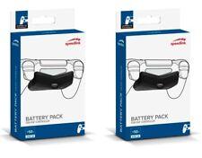PACK 2x Power Akku Zusatz-Akku Battery-Pack für Sony PS4 Controller Game-Pad