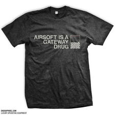 AIRSOFT IS A GATEWAY DRUG T-Shirt Everyday No Days Off ENDO Apparel Size L