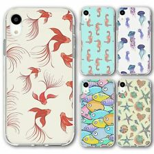 For iPhone XR Silicone Case Cover Marine Group 4
