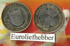 Finland /Suomi                       5 Euro  ( 7 ) 2011     op voorraad    NIEUW