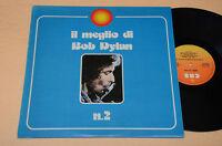 BOB DYLAN LP IL MEGLIO VOL 2 ITALY 1975 EX !!!!!!!!