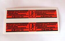 CB 750 900 BOL D'OR CBX 1000 COPPIA DECALS AMMORTIZZATORI /SHOCK ABSORBER DECALS
