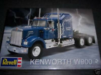 Revell Kenworth W900 truck 1/25 model kit new 1507