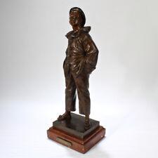 Bronze Sculpture of Pierrot Singing Au Clair De Lune after Eutrope Bouret - BR