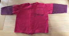 Baby Boys Red Long Sleeved Timberland Top Size 12 Months