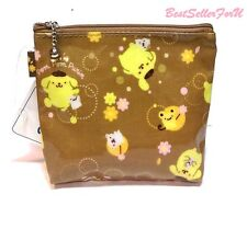 Sanrio Pompompurin Coin Change Purse Makeup Case Card Holder Clutch Bag Pouch