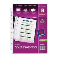 "Avery Sheet Protector - 1 Sheet Capacity - 5.50"" X 8.50"" - Rectangular -"