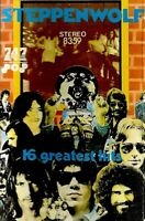 Steppenwolf .. 16 Greatest Hits  Import Cassette Tape