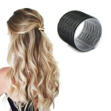 8x EXTRA LARGE SELF GRIP HAIR ROLLERS Curling Curls Waves Cling Stick Styling