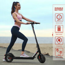 "8.5"" 350W Folding E-Scooter Skateboard APP Riding Kick Electric Scooter + Helmet"
