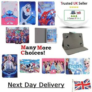 Stitch Peppa Pig Spiderman Avengers Heros Covers For Samsung Galaxy Tab A Case