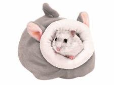 Höhle Kuschelhöhle Mrs. Mouse Haus für Nager Hamster Ratten Mäuse Degus Grau