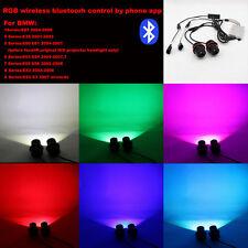 Wireless Bluetooth Control LED RGB Angel Eyes For BMW E87 E39 E60 E63 E65 E53 83