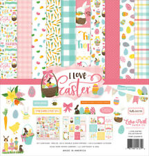 """New Echo Park  12"""" x 12"""" Paper Collection Kit I Love Easter"""