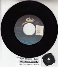 "ALVIN & THE CHIPMUNKS  Achy Breaky Heart 7"" 45 record NEW + juke box title strip"