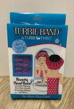 Turbie Band By Turbie Twist Beauty Head band Purple NIB