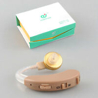 Hearing Aids Sound Amplifier Behind the Ear Volume Adjustable AXON F-138