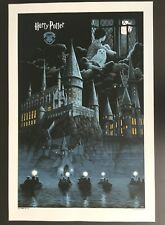 """HARRY POTTER"" RARE OFFICIAL LIMITED EDN SCREEN PRINT W ARTWORK BY GERHARD! $100"