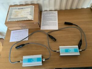 Vertex Silver Solfonn XLR Interconnect. 1m Pair.