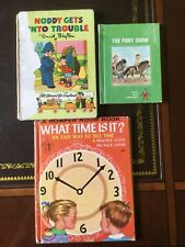 Noddy Gets into Trouble,What Time Is It? Romper Room, The Pony Show,Tiny Elf Bk
