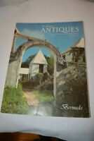 The Magazine ANTIQUES, August 1979, Bermuda, Architcture, Furniture Used