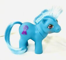 Vintage G1 My Little Pony ~*Mail Order Baby Blue Ribbon Excellent RARE!*~