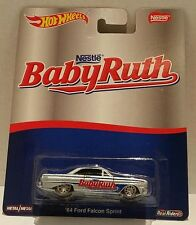 Nestle Baby Ruth '64 Ford Falcon Sprint REAL RIDERS. Hot Wheels 2016 Pop Culture