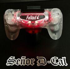 1x FALLOUT 4 Style PS4 Dualshock Controller Lightbar Decal Sticker
