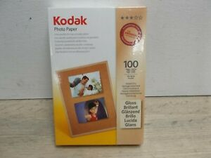 "Kodak Photo Paper Instant Dry 100 Sheets Gloss 4 X 6"" (1)"