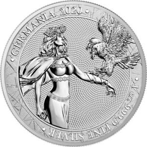 GERMANIA 2020 5 Mark 1 oz 0.9999 Pure Silver BU Coin