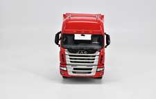 1/24 JAC Original manufacturer,Red JAC  Heavy Truck Trailer Model
