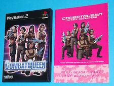 Combat Queen - Sony Playstation 2 PS2 Japan - JAP