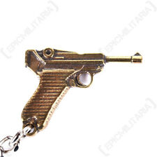 Luger P08 Pistol Keyring - Key Chain FOB Army Military Gun Soldier Gift Mens New