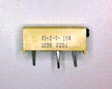 Spectrol 41-2-1-104 100K 15-turn trim-pot for Thru-hole mount end adjust