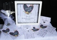 Personalised Wedding Day/Evening Invitations Invites RSVP *FREE GIFT* WP3