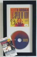 KEITH URBAN CD DISPLAY JSA CERTIFIED COA SIGNED MUSIC AUTOGRAPHED COUNTRY ALBUM