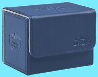 ULTIMATE GUARD XENOSKIN BLUE SIDEWINDER 100+ DECK CASE Side Loading Card Box MTG