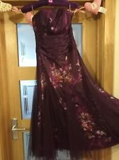 Ladies Girls Prom Wedding Party Formal Dress Monsoon Size 8