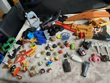 LARGE-BUNDLE OF ANGRY BIRDS - STAR WARS CHARACTERS & OBSTACLE BUILDING ITEMS  +