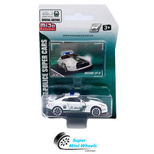 Majorette Nissan GT-R Dubai Police Super Car (White) 1:64 Mijo Exclusives