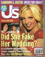 US Weekly Magazine October 4 2004 BRITNEY SPEARS FAKE WEDDING CAMERON DIAZ NL