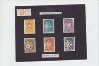 1959  Indonesia Scout Stamp Set M-272