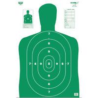 NEW! Birchwood 37204 Casey Eze-Scorer BC-27 Paper Targets (Green, 12x18-In 37204