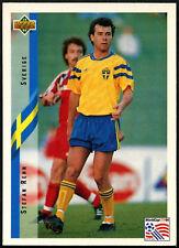 Stefan Rehn #76 World Cup Contenders Eng/Ger 1994 Upperdeck Football Card (C647)
