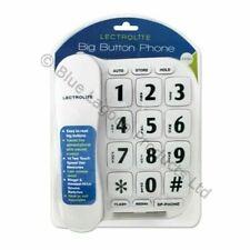 Benross 44580 Jumbo Big Button Home Telephone - White